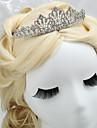 Licht Metaal Vrouwen/Bloemenmeisje Helm Bruiloft/Speciale gelegenheden Tiara\'s Bruiloft/Speciale gelegenheden