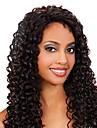 20inch Beautiful Lockigt hög temperatur Synthetic Front Lace Wig Color Show # 2 (6 Color tillgänglig)