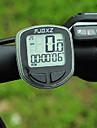 Compteur velo FJQXZ LCD sans fil portatif noir velos Compteur / Chronometre