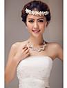 Women\'s Imitation Pearl Headpiece - Wedding/Special Occasion Headbands/Flowers/Head Chain
