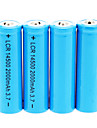 2000mAh Batterie 14500 (4pcs)