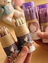 modele de fille de bande dessinee 12 crayon de couleur de peinture (12 pcs / set)