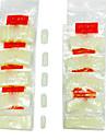 500st Halv Tippar Nail Art Tips (Blandade färg)