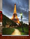 Euro Drömlik Night Sence Eiffeltornet Roller Shade