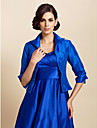 Wedding / Party/Evening / Casual Taffeta Coats/Jackets Long Sleeve Wedding  Wraps