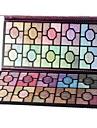100 Palette di ombretti Secco / Satinato / Luccicante / Minerale Gamma di colori dell\ombretto Cipria GrandeTrucco da fata / Trucco
