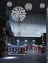 3W Romantic White Acrylic Dandelion Chandeliers with 1 Lights