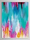 iarts®hand målad oljemålning abstrakt bild vardagsrum med sträckt ram
