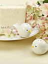 Ceramic Bird\'s Nest Salt & Pepper Shakers Wedding Favor (Set of 2)