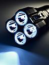 Nitecore® LED-Ficklampor 3500 Lumen Läge Cree XM-L U2 18650 / CR123A Vattentät Multifunktion Aluminiumlegering