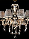 Ecolight™ 40W Modern/Contemporary/Classic/Vintage Crystal Electroplated Glass Chandeliers