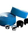 Cykel Styre Tape Blå Karbonfiber / PU 1 pair(2 Pcs)-NUCKILY