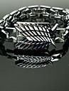 Smycken Inspirerad av Attack on Titan Eren Jager Animé Cosplay Accessoarer Armband Silver Legering Man