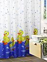 Mignon bain Canard de bande dessinee de rideau de douche