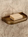 Soap Dish Antique Brass Wall Mounted 19.5*9cm(7.6*3.9inch) Brass Antique