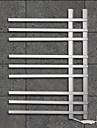 90w chauffe-serviettes acier inoxydable 304 # de montage mural poli miroir de la grille de sechage