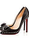 Patent Leather Women\'s Stiletto Heel Pointed Toe Pumps/Heels Shoes