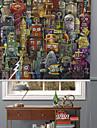 inspiration fantastisk tecknad robbot rullgardin
