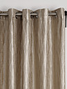 (Two Panels) Neoclassical Overlapping Curves Energy Saving Curtain