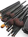 32-delige nieuwe professionele make-upkwast van geitenhaar met zwart handvat en gratis etui
