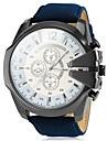 V6® Men's Watch Military Style Leather Band Cool Watch Unique Watch