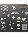 Women's  Nail Art Manicure Template Image Stamp Stamping Plates DIY Decors