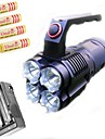 LED-Ficklampor / Pannlampor / Lyktor & Tältlampor / HID Ficklampor / Cykellyktor / Dykficklampor Läge 3800 Lumens LumenLaddningsbar /