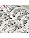 ögonfransar Ögonfrans Ögonfrans Volym Naturlig Fiber