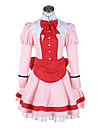 Inspire par Black Butler Elizabeth Anime Costumes de cosplay Costumes Cosplay Mosaique Rose Robe / Cache-col