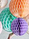 16 pouces de papier de soie en nid d\'abeille boule de fleurs (plus de couleurs)