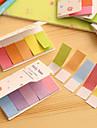 couleurs arc-en-gradient de doubles cotes de scrapbooking de notes autocollantes