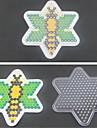 1st mall klart pegboard bee mönster för 5mm Hama Pärlor Perler pärlor säkrings pärlor