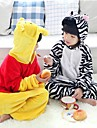 Kigurumi Fete / Celebration Deguisement Halloween Blanc / Noir Halloween / Carnaval Enfant Flanelle