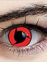 naruto Itachi Uchiha Sharingan lentilles de contact de cosplay (1 paire)