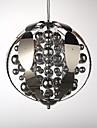 Globe LED Chrome Metal Lustre / Lampe suspendue Chambre a coucher / Salle de bain / chambre d\'enfants / Salle de jeux