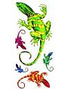 #(1) - Series animales - Multicolore - Motif - #(18.5*8.5) - Tatouages Autocollants Homme/Girl/Adulte/Adolescent