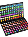 168 Eyeshadow Palette Dry / Matte / Shimmer / Mineral Eyeshadow palette Powder Large Daily Makeup / Party Makeup Professional Cosmetic Rectangle Box