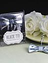"""regalo groomsman """"cravatta nera"""" cravattino cavatappi"""