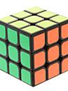 Slät Hastighet Cube 3*3*3 Magiska kuber Svart Blekna ABS