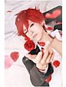 la Nozaki-kun des filles mensuels mikoto Mikoshiba rouge perruque cosplay