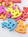 colore trojan album scraft coudre des boutons en bois de bricolage (10 pieces)