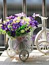 Gren Polyester Plast Prästkragar Bordsblomma Konstgjorda blommor