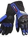 högkvalitativ vinter varm 100% vattentäta vindtäta skydds fullt finger cykel racing läder motorcykel handskar