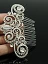 Women\'s/Flower Girl\'s Rhinestone/Alloy Headpiece - Wedding Hair Combs