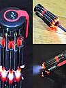 8 i 1 multifunktions screwsriver satt med LED