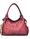Femme Polyurethane Formel / Decontracte / Bureau & Travail / Shopping Sac a Bandouliere / Cabas Rouge