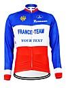 KOOPLUS® Veste de Cyclisme Femme / Homme / Unisexe Manches longues VeloRespirable / Garder au chaud / Doublure Polaire / Zip etanche /