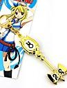 Bijoux Inspire par Fairy Tail Cosplay Anime Accessoires de Cosplay Colliers Dore Alliage Feminin