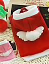 Chien Pulls a capuche Rouge / Incanardin Vetements pour Chien Hiver Cosplay / Noel / Nouvel An