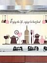 väggdekorationer porslin kök anti - olja klistermärken dekorativa sticker